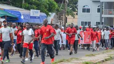 Prudential Life Organizes Health Walk For Its Bancassurance Partners